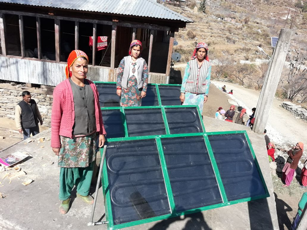 Indian group invited in Finland to showcase solar water heating system