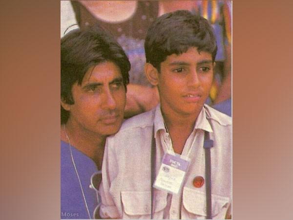 Amitabh Bachchan remembers son Abhishek's first autograph