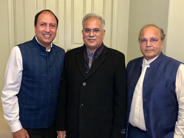 Indian-American investors meet CM Bhupesh Baghel, show interest to invest in Chhattisgarh