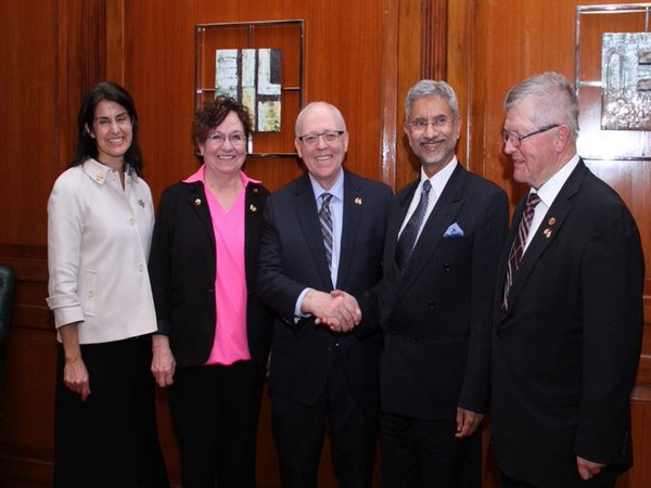 EAM meets Canadian Parliamentary delegation, discusses 'promising future' of India-Canada ties