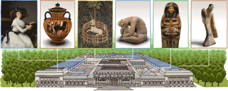 Google doodle on Metropolitan Museum of Art to celebrate 151st Anniversary