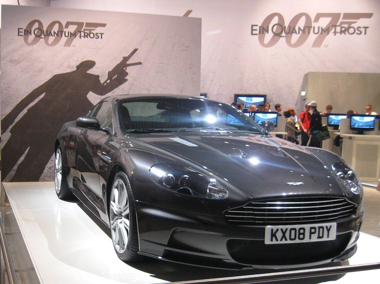Aston Martin built for James Bond heading to auction