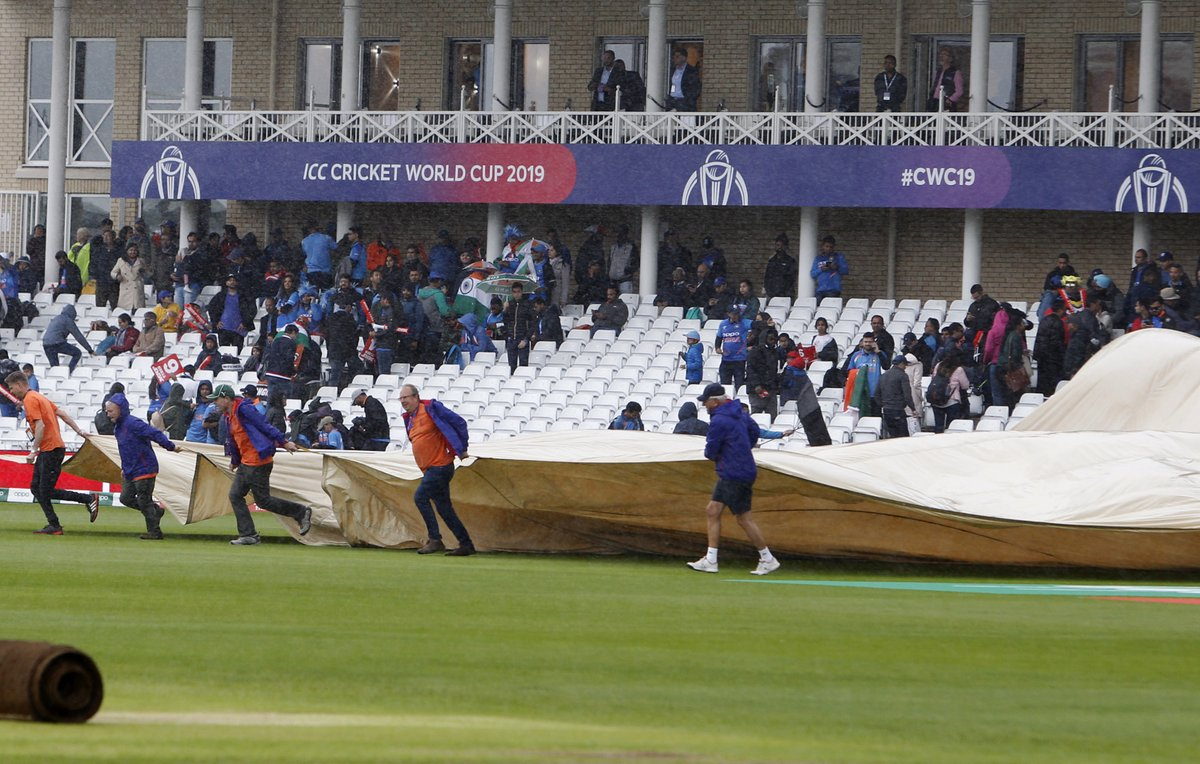 India vs New Zealand World Cup match cancelled due to rough weather