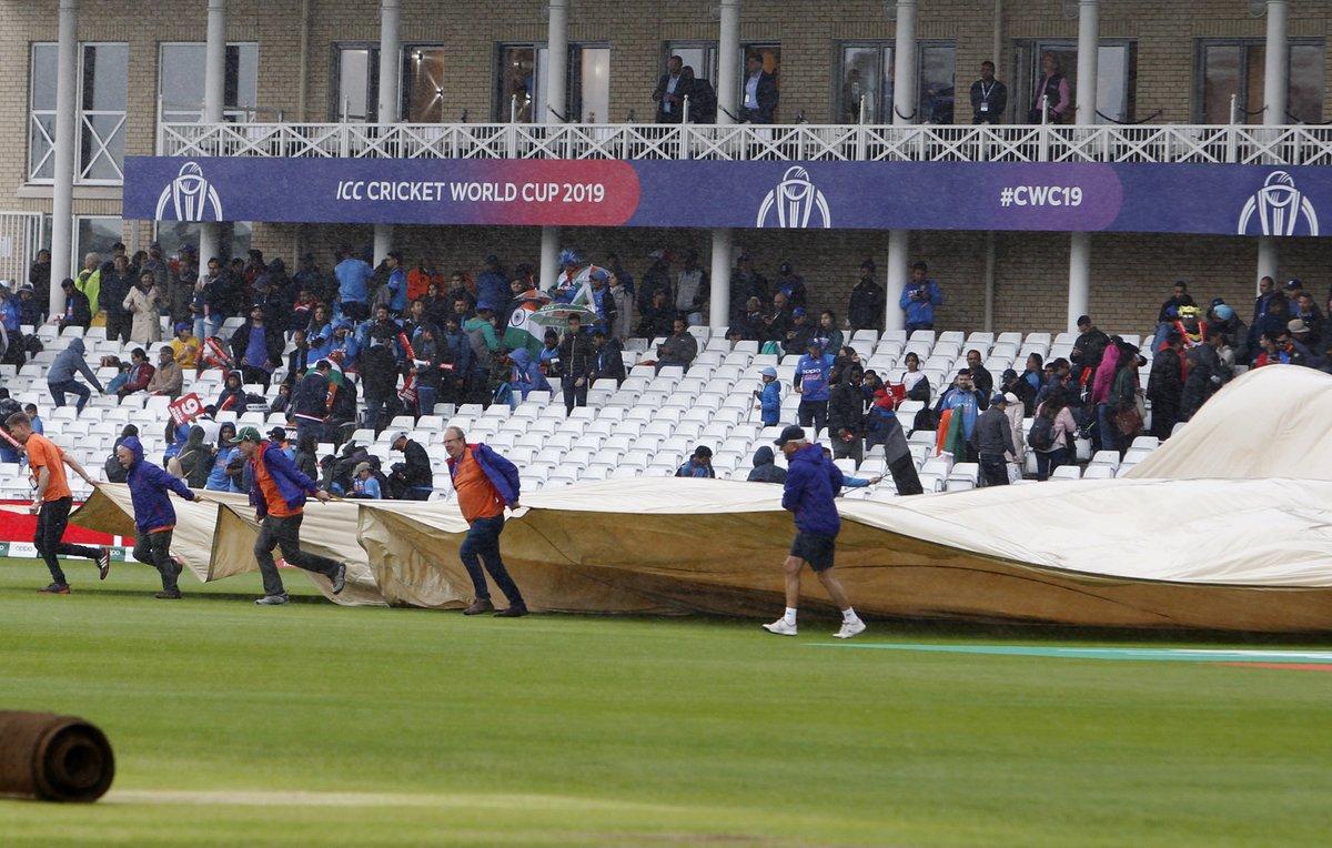 UPDATE 1-Cricket-India, NZ split points after Trent Bridge washout