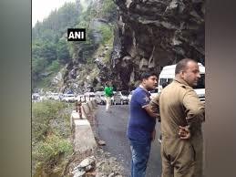 Badrinath Highway shut after boulders block road; expected to reopen today