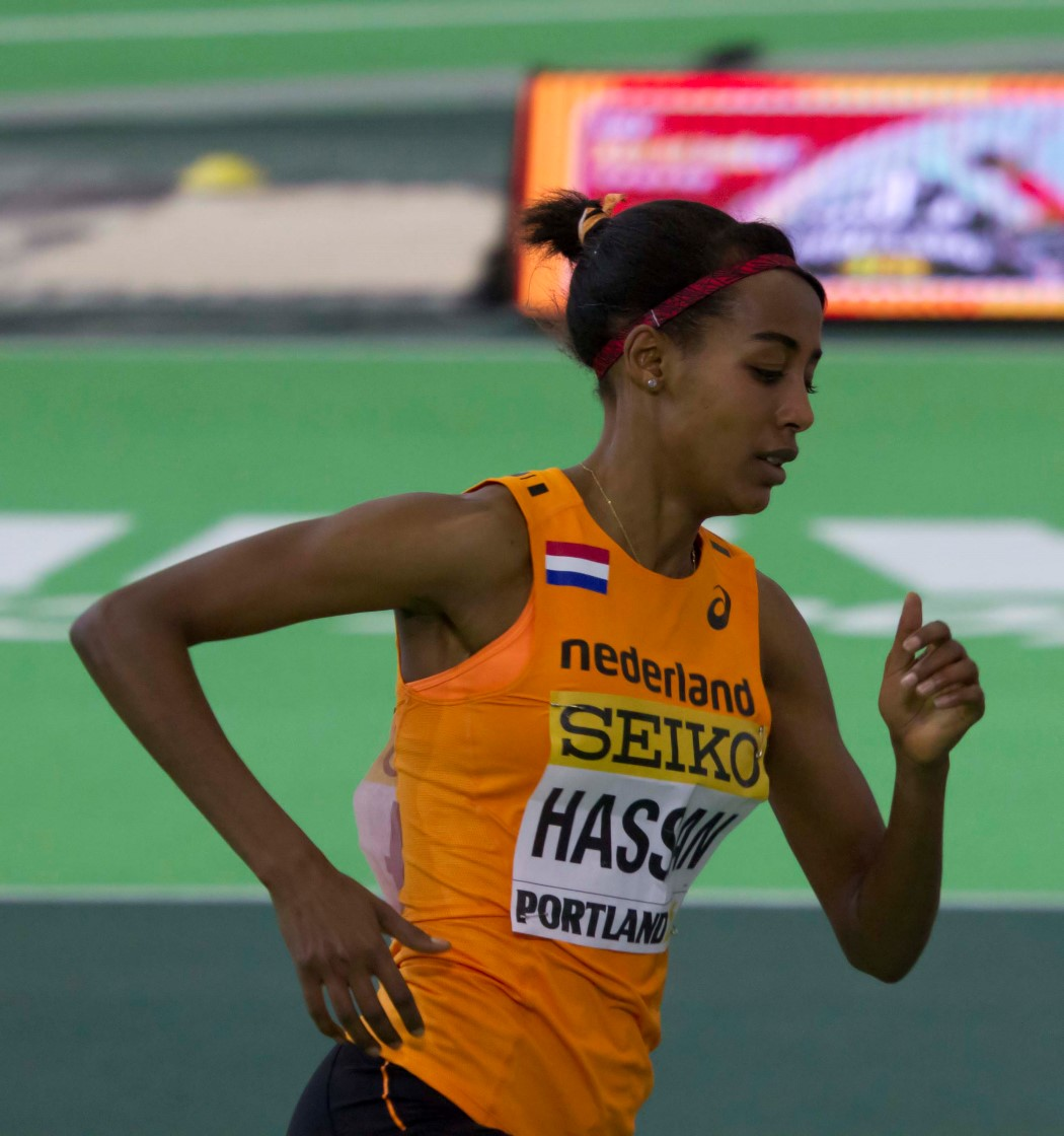 Athletics-Netherlands' Hassan breaks women's mile world record