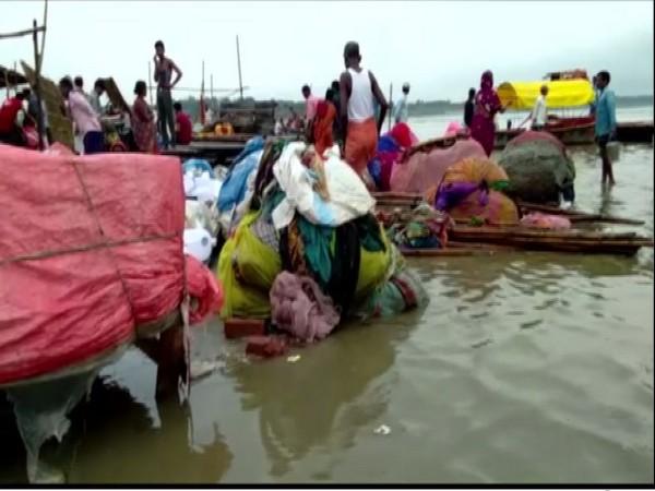 Prayagraj: City faces flood-like situation as heavy rainfall swells river Ganga