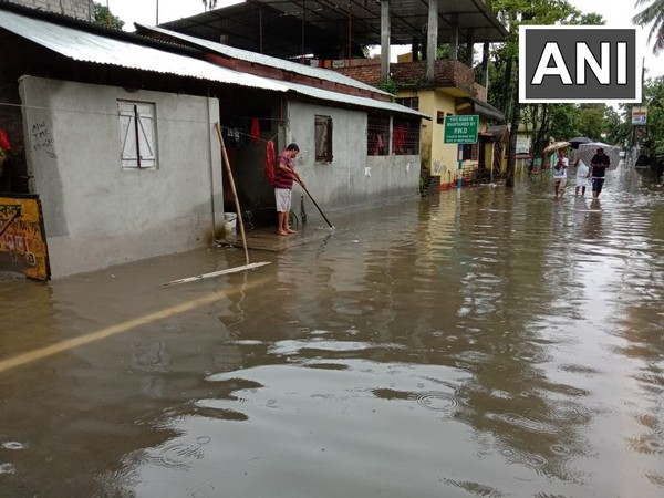 WB: Water-logging hits normal life in Cooch Behar