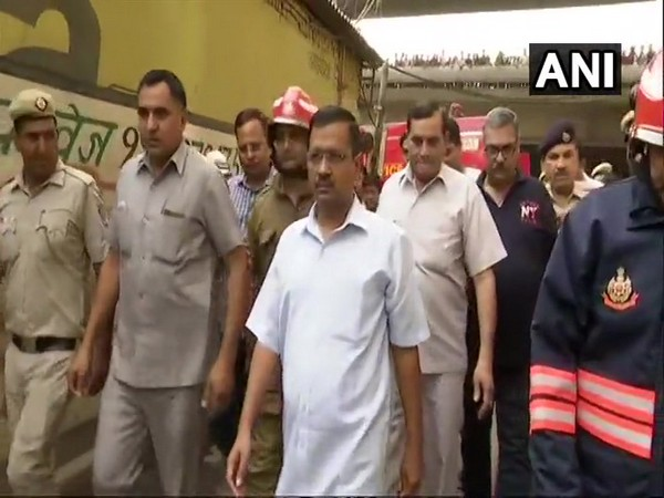 Jhilmil fire: Kejriwal announces Rs 5 lakh compensation to families of deceased