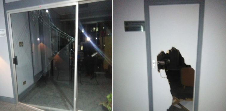 Johannesburg mayor Herman Mashaba's office robbed