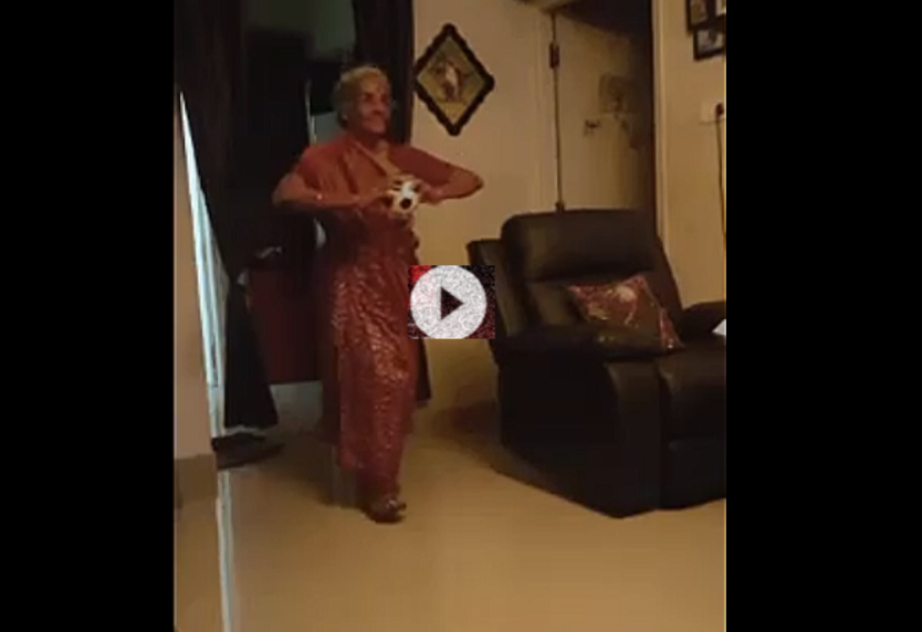 Bumrah's bowling style: Elderly fan mimics his runup in adorable video