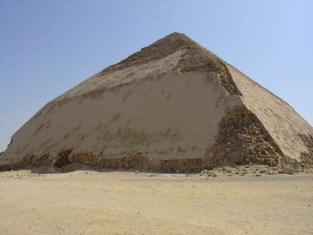 "Egypt opens Sneferu's ""Bent"" Pyramid in Dahshur to public"