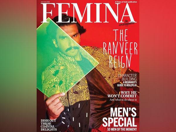 Ranveer Singh keeps it classy on latest magazine cover