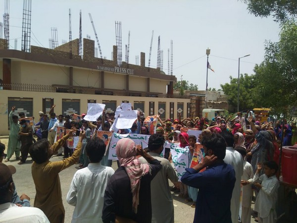 Sindh women hold protest against enforced disappearances of activists