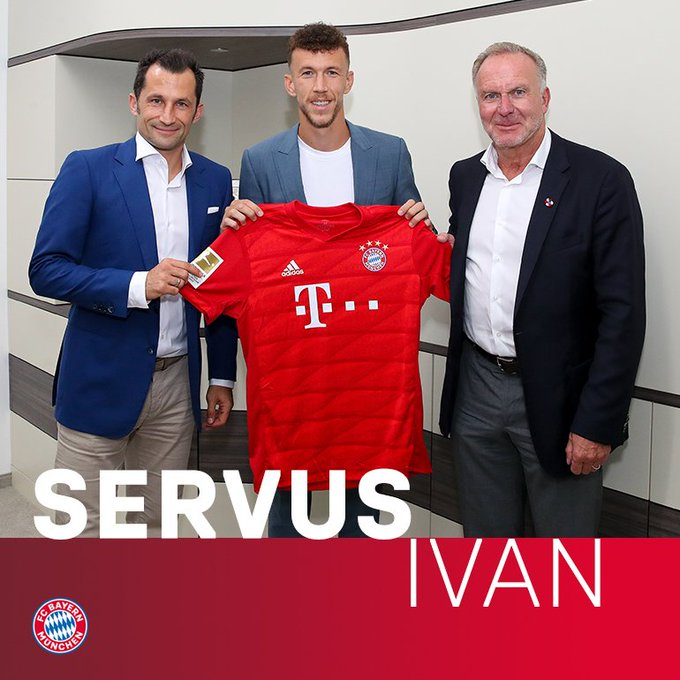 FC Bayern Munich signs Ivan Perisic on loan from Inter Milan