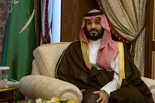 UAE's top prince in Saudi Arabia for talks with crown prince