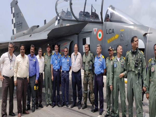 DRDO, ADA successfully execute first-ever arrested landing of LCA (Navy)