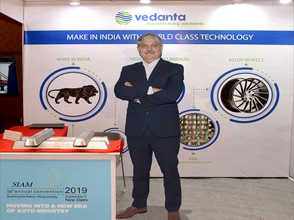 Vedanta formally launches Primary Foundry Alloy (PFA) at 59th SIAM Annual Convention 2019