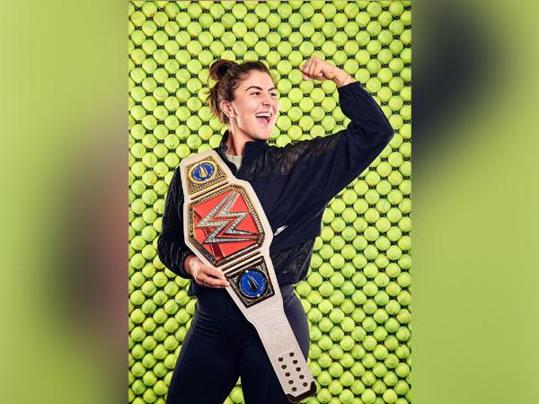 Bianca Andreescu receives customised WWE belt