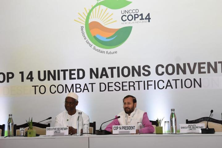 Javadekar reiterates commitment to achieving land degradation neutrality by 2030
