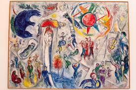 """Chagall's famed """"Fiddler"""" painted on a tablecloth -researchers"""