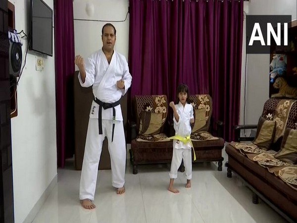 5-year-old wins gold medal in online International E-Kata Championship 2020