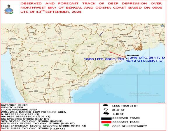 Deep depression crosses Odisha coast; heavy rain likely in west India