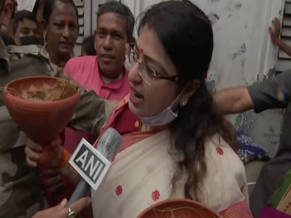 BJP candidate Priyanka Tibrewal holds rally ahead of filing nomination for Bhabanipur by-polls