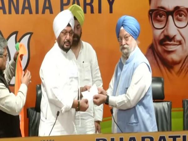 Former President Giani Zail Singh's grandson Inderjeet Singh joins BJP