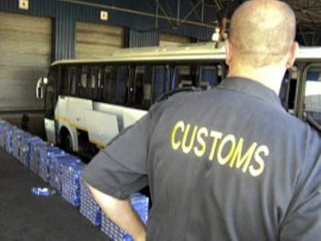 SARS Customs seize calcium hydroxide used to make drugs