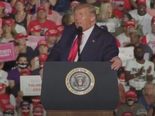 Trump returns to campaign trail in Florida, says he feels 'powerful' and wants to 'kiss everyone'