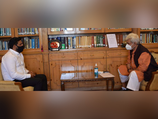 Rajya Sabha MP calls on Lieutenant Governor of Jammu and Kashmir