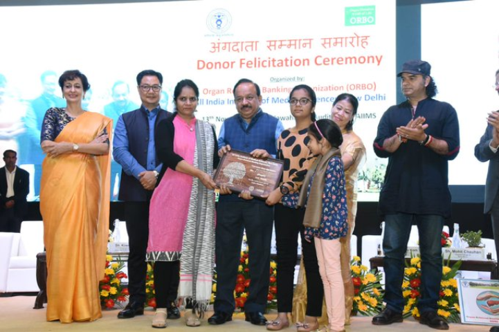 One cornea donor can give sight to up to four people: Dr. Harsh Vardhan