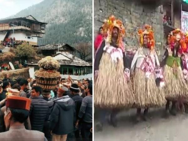 Villagers in HP's Kullu district celebrate 'Fagli' festival with great fervour