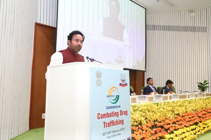 Drug trafficking menace can be controlled by concerted efforts: Kishan Reddy