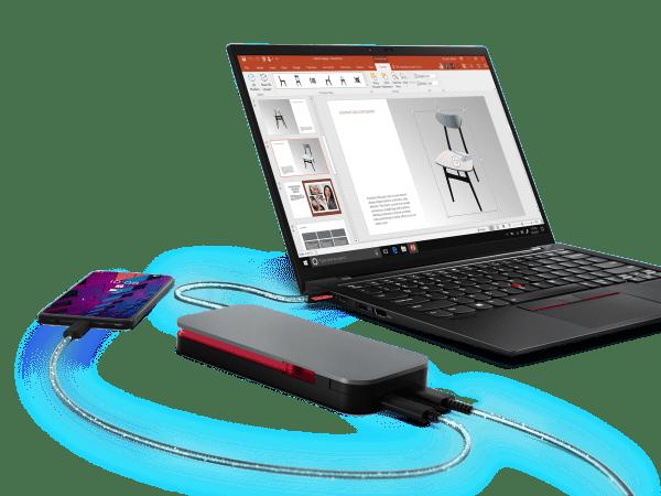 Lenovo launches new 20,000 mAh USB-C power bank for laptops