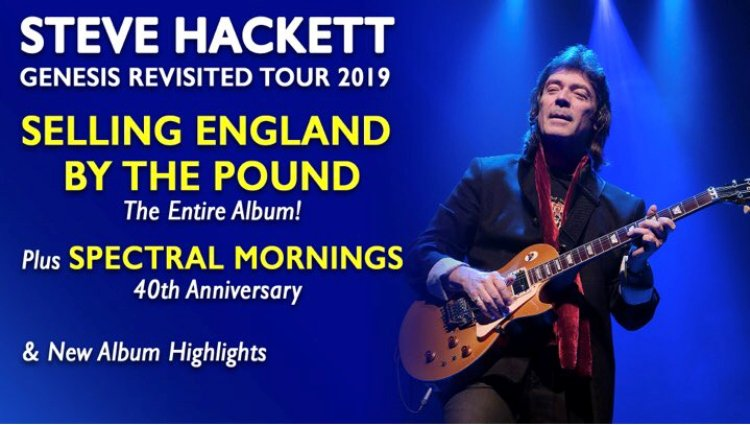 Steve Hackettto celebrate 40th anniversary of album's release in New Zealand
