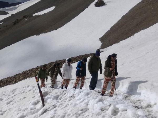 ITBP Director General visits Lipulekh pass to review arrangements for Kailash Mansarovar Yatra