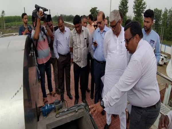 Gajendra Singh Shekhawat inspects ongoing projects in Rishikesh and Haridwar