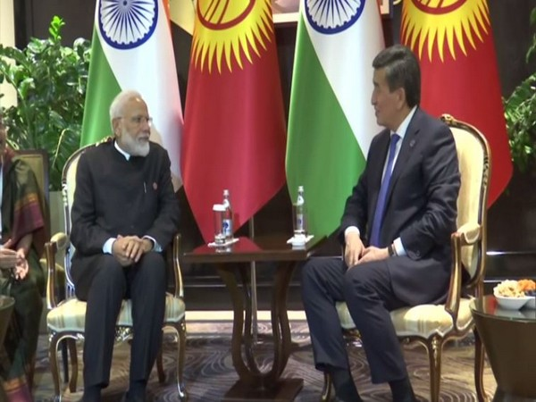 India, Kyrgyzstan hold bilateral on SCO sidelines