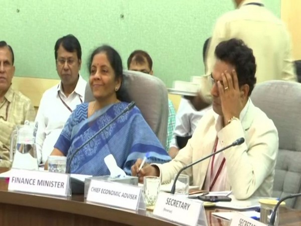 Finance Minister Nirmala Sitharaman holds pre-Budget meeting