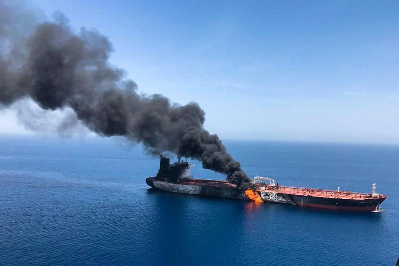 Iran fast-boats preventing towing of damaged Altair tanker -source