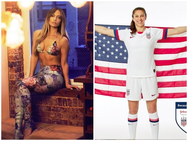 Jennifer Lopez gives special tribute to Carli Lloyd on World Cup victory