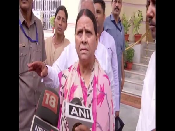 Nitish Kumar avoiding responsibilities over AES, floods in Bihar: Rabri Devi