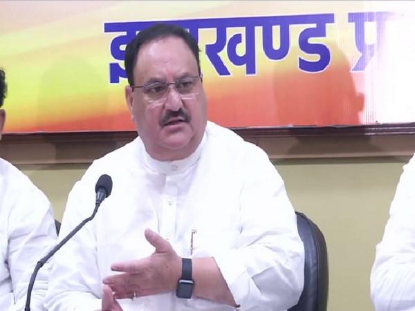 Ranchi: JP Nadda attends BJP membership drive program, holds meeting with core committee members