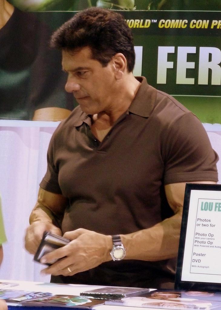 Can't take Mark Ruffalo seriously as the Hulk: Lou Ferrigno