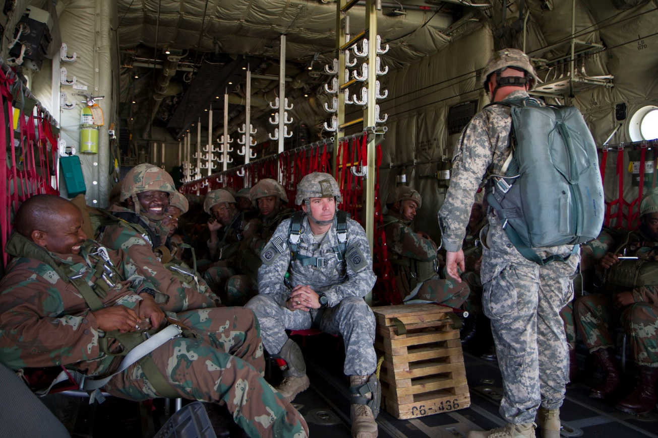 Several countries including US participate in military exercise in Rwanda
