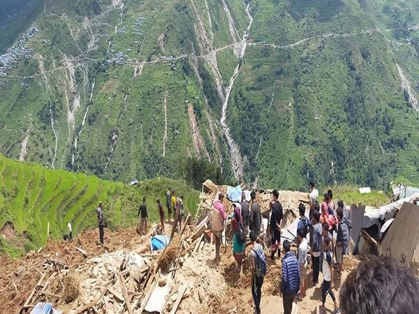 Torrential rain causes landslide in Nepal, 5 dead, 38 missing