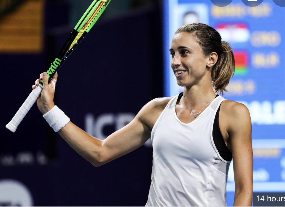 Tennis-Martic, Kontaveit dig deep to advance to Palermo quarter-finals