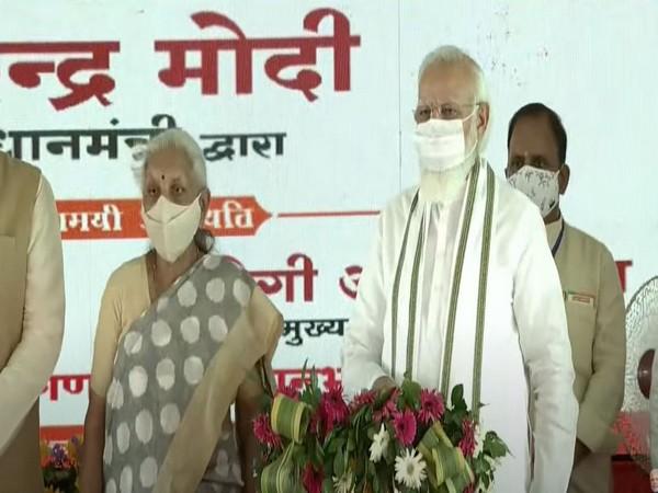 PM Modi lays foundation stone of Raja Mahendra Pratap Singh State University in UP's Aligarh